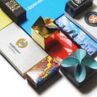 Presentkortsförpackningar med eget tryck