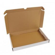 Brevpack 250x150x27mm vit/brun (100-pack)