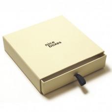 Drawer Box 125x125x30 mm beige