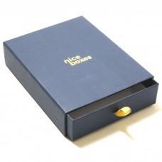 Drawer Box 159x112x30 mm marinblå