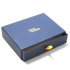Drawer Box 220x160x30 mm marinblå