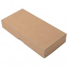 Ask med lock hörnnitad naturbrun  110x80x40 mm