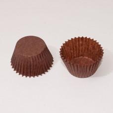 Pappersform 25x19 mm brun (1000-pack)