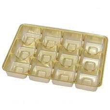 Insats 159x112x20 mm 12 pr guld (25-pack)