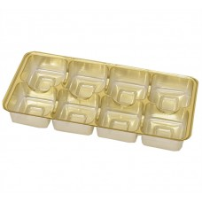 Insats 159x78x20 mm 8 pr guld (25-pack)