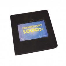 Insats presentkort svart (100-pack)