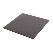 Mjukwell 125x125x3 mm för 9 pralin svart (25-pack)