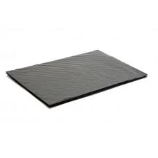 Mjukwell 159x112x3 mm för 12 pralin svart (25-pack)