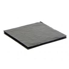 Mjukwell 78x82x3 mm för 4 pralin svart (25-pack)
