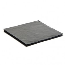 Mjukwell 112x82x3 mm för 6 pralin svart (25-pack)