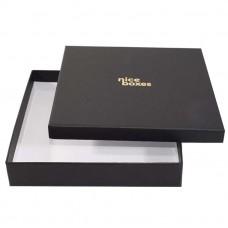 Brilliance ask och lock 125x125x30 mm svart