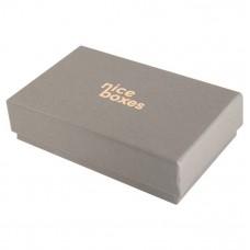 Smyckesask Brilliance 124x78x33 mm grå