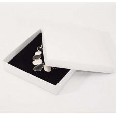 Smyckesask Sober 160x160x32 mm vit (100-pack)