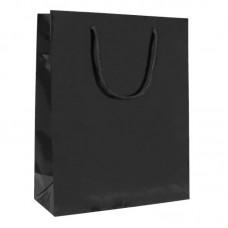 Luxbag blank svart 140x70x140mm 250-pack