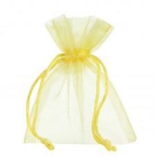 Smyckespåse organza gul 90x80x40mm (10-pack) - Smyckespåsar - Pris 19.00 - Artikelnummer LS76209